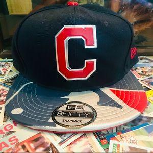 New Era 9Fifty Cleveland Indians SnapBack Hat
